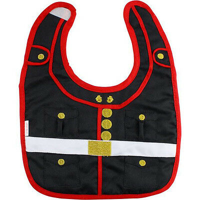 Vanguard Marine Corps Dress Blues Baby Bib