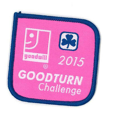 """Girl Guide Scout Brownie BADGE PATCH CREST – new! ~ Goodturn Challenge 2.25"""""""