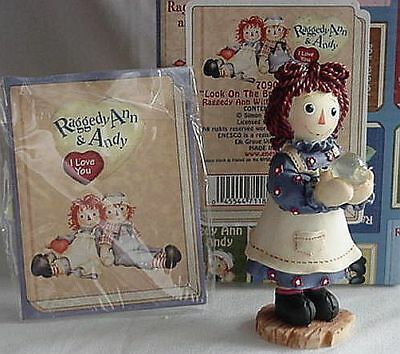 Nib Raggedy Ann & Andy Look On The Bright Side Of Life New Retired