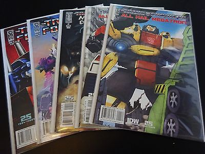 Transformers Comics Idw - Lot Of 5 Comics