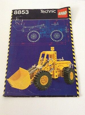 Lego Technic 8853 Digger, Instruction Manual Only, 1988
