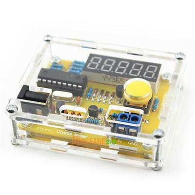 1Hz-50MHz Crystal Counter Meter DIY Frequency Tester with Housing Kit
