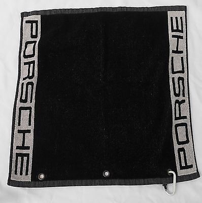 Porsche Golf Towel Sport with Porsche Clip