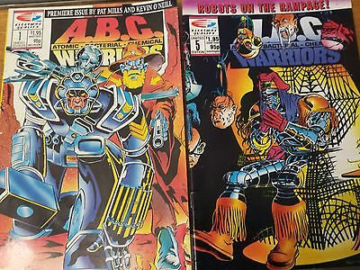 ABC Warriors Limited Edition comic  #1 and #5  1991  Very fine