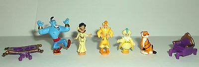 Figures for Vintage Disney Polly Pocket Jasmine Palace,  Aladdin, Good Condition