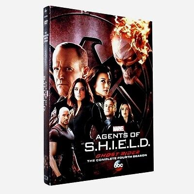 Agents Of Shield S.H.I.E.L.D Season 4 Complete DVD New & Sealed UK Compatible