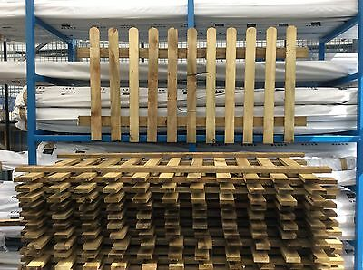 Picket Fencing 1.2m High x 1.8m Wide