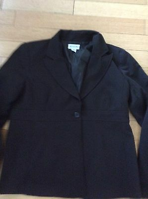 Motherhood Maternity Suit Jacket Only Blazer Black Professional Business Large