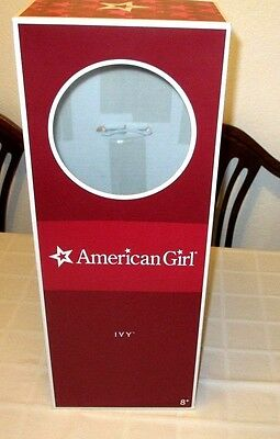 Retired American Girl Ivy Meet Box Only with Hang Tag, EUC, READ DESCRIPTION, TY