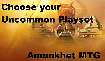 Choose your Amonkhet Uncommon x 4 NM MTG Magic the Gathering
