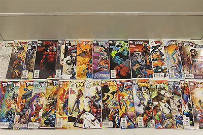 DC COMICS - Teen Titans: Lot Of 29 Comic Books, Issue's #34- 63 Great Condition