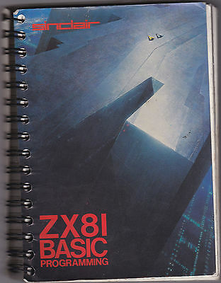 Original MANUAL For The SINCLAIR ZX81 Computer