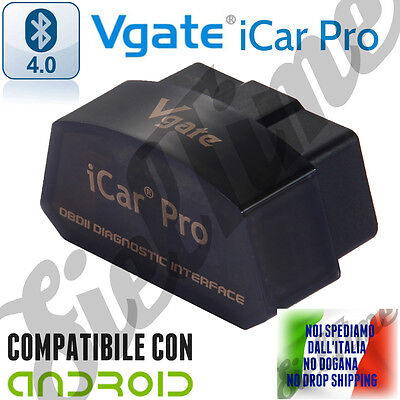 OBD2 OBDII Vgate iCar PRO BLUETOOTH 4.0 SCANNER DIAGNOSI AUTO ANDROID SAMSUNG S8