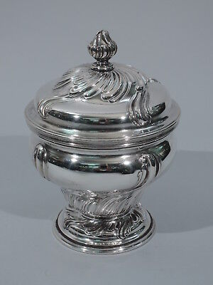 Rococo Inkwell - Ink Well  - Antique - Austrian Silver - C 1925