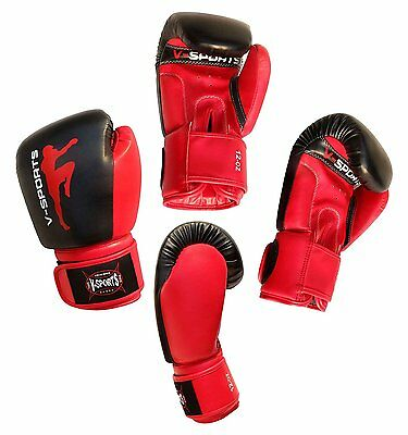 Boxing Gloves Rex Leather kids boxing Kickboxing Muay Thai MMA boxing gloves
