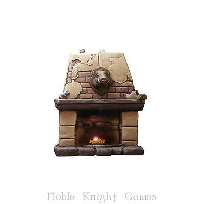 Fenryll Fantasy Mini Resin 28mm Medieval Fire Place Pack MINT