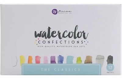 Prima Watercolour Confections The Classics, Watercolor Paint Artist Mixed Media