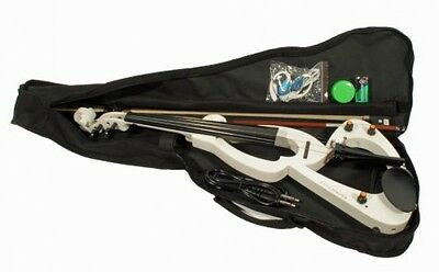 Cher Rystone 4260180881035 Electric Violin With Accessories White