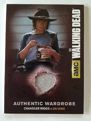 The WALKING DEAD - Chandler Riggs as CARL GRIMES - Wardrobe Costume Card