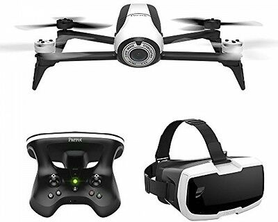 Parrot Bebop 2 Quadcopter Drone With Skycontroller 2 and Cockpit FPV Glasses,