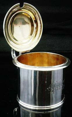 LARGE Scottish Silver Mustard Pot, Edinburgh 1849, James McKay