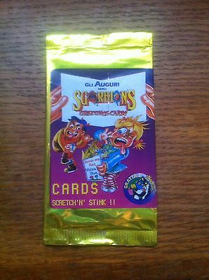 Sgorbions Greeting cards Garbage Pail Kids Unopened / Sealed Sticker Card Pack