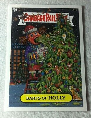 Garbage Pail Kids ANS 6 All new series 6 Barfs of Holly B15 bonus card 2007 RARE