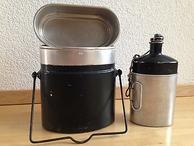 Swiss Army Post WWII Canteen SIGG 82 with cup JE83