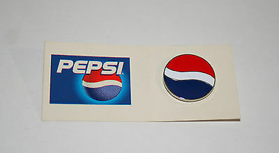 2 Vintage 1990's Pepsi-Cola Pepsi Soda Advertising Collectible Pin Card New NOS