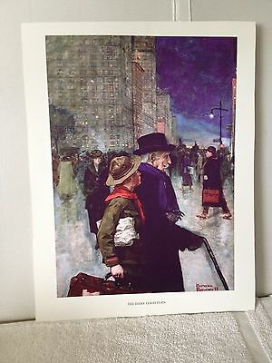 Norman Rockwell Print - The Daily Good Turn - Boy Scouts Of America