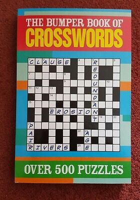 The Bumper Book of Crosswords over 500 puzzles