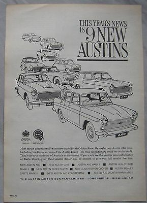 Austin range Original advert No.1