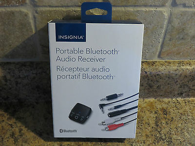 Insignia Bluetooth Audio Receiver Kit (NS-MBTK35-C) NEW- OPEN BOX- FREE SHIPPING