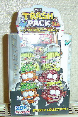 New - 100 Packs of The Trash Pack Stickers