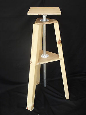 Sculpting Stand Rotating Adjustable Height Sculpture Clay Armature New