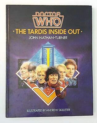 Doctor Who - The Tardis Inside Out by John Nathan-Turner (Hardback, 1985)