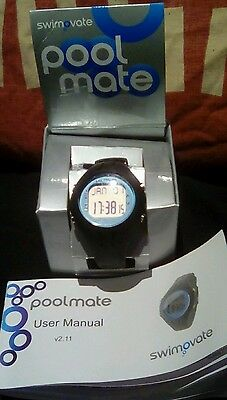 Swimovate Poolmate Swimming Watch Excellent condition in box with instructions