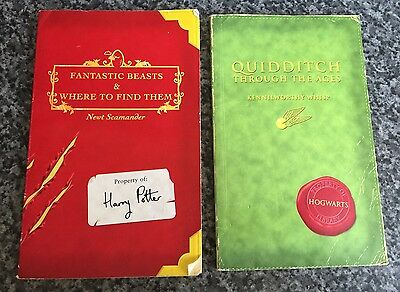 Fantastic Beasts & Where To Find Them & Quidditch Through The Ages Comic Relief