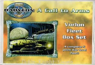 Mongoose Babylon 5 Call to Arms Vorlons Mi Vorlons Fleet Box (2nd Editio Box SW