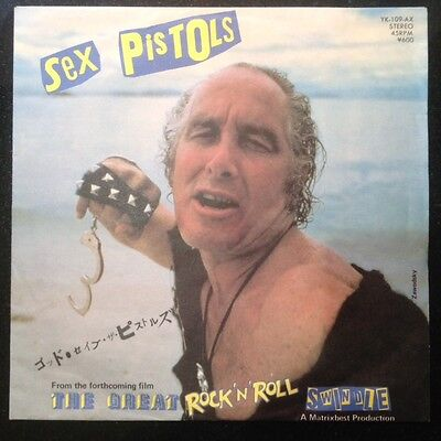 "Sex Pistols No One Is Innocent Rare Japan 7"" PS +Insert Punk Sid Vicious R Biggs"
