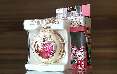 Sailor Chibi Moon Prism Pink Sugar Heart Compact Locket / Musikalische Brosche