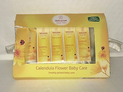 Weleda Organic Mini Calendula Baby Starter Kit Set Newborn Flower Baby Care
