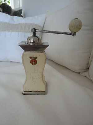 "beautiful and extremely rare old Mocca coffee grinder ""PeDE"",Peter Dienes"