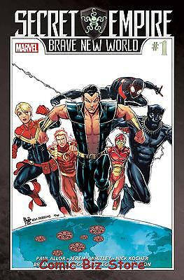 Secret Empire Brave New World #1 (Of 5) (2017) 1St Printing Bagged & Boarded