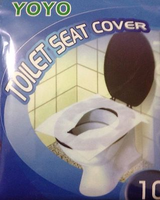 Disposable Clean Toilet Seat Covers Hygienic Protection Flushable Cover UK STOCK