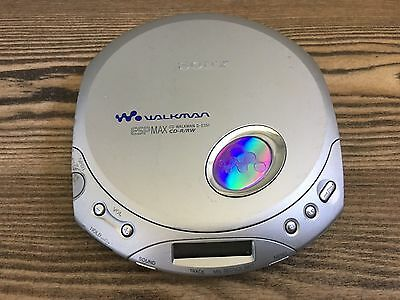Sony D-E351 CD Walkman ESP, CD-R/RW TESTED & WORKING,no Back Cover