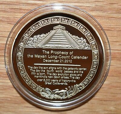 2017  Proof Like The Mayan Calendar- The Prophecy of the Long Count Calendar
