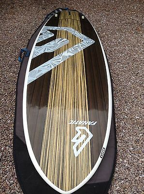 """fanatic 9'6"""" fly  wood edition sup stand up  paddle board"""