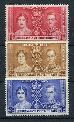 BECHUANALAND PROTECTORATE KGVI 1937 Coronation MH *