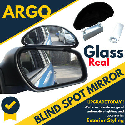 Black Car Blind Spot Extra Safety Mirror Adjustable Van